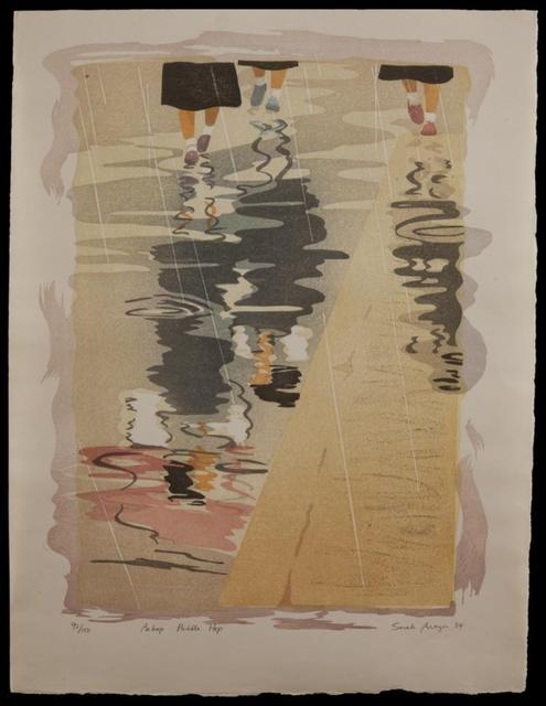 , 'Bi Bop Puddle Hop,' 1984, Verne Collection, Inc.