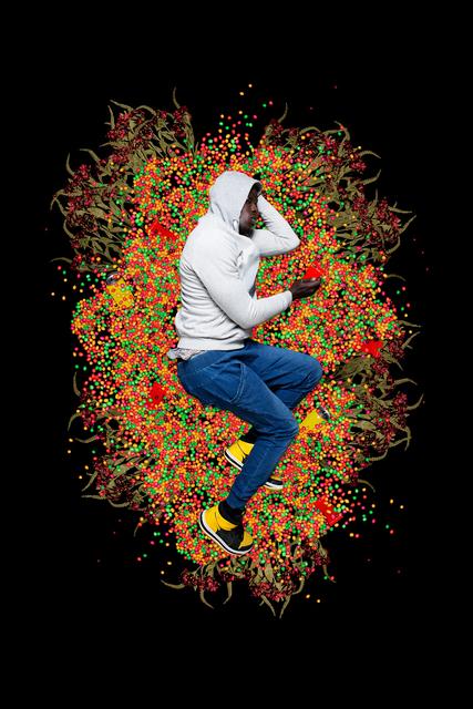 Omar Victor Diop, 'Trayvon Martin, 2012', 2017, Photography, Inkjet print Hahnemühle, Magnin-A