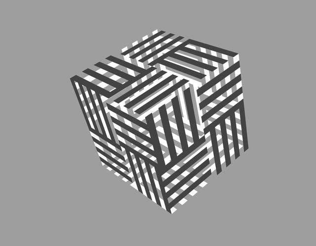 , 'Cubo 2 Colores,' 2017, Artscape Lab
