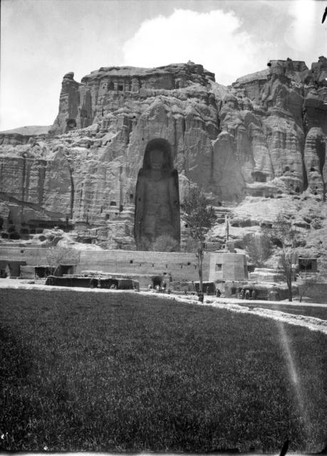 , 'Bamiyan, Large Buddha,' ca. 1933, Musée national des arts asiatiques - Guimet