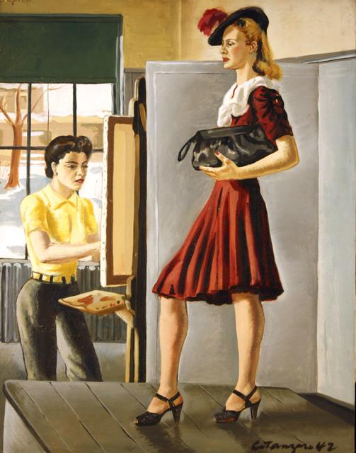, 'Studio Study,' 1942, Benjaman Gallery Group