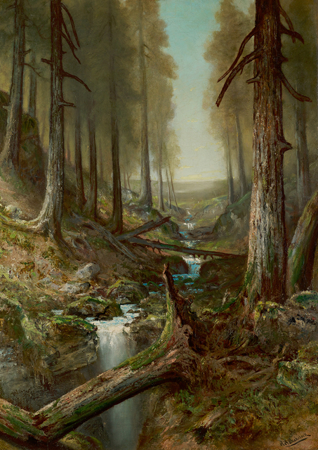 , 'Forest Interior,' , Questroyal Fine Art