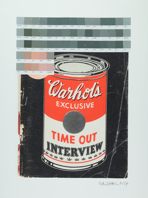 , 'Warhol Interview, Time Out 1971,' 2017, Lawrence Alkin Gallery