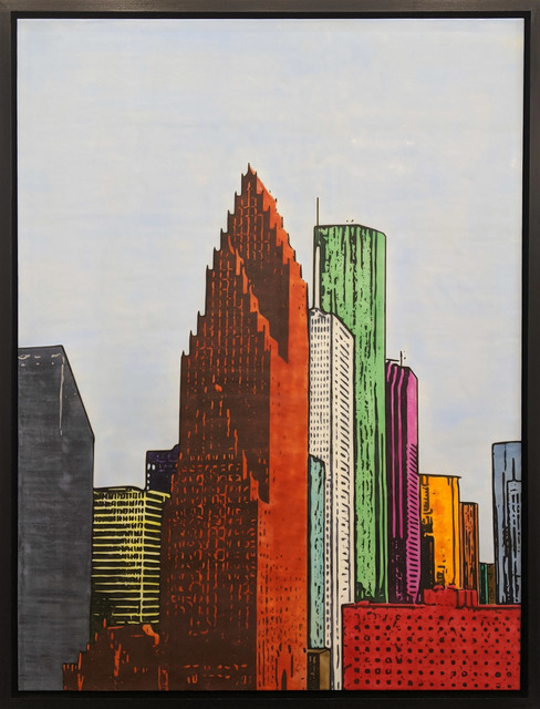 , 'H-Town Skyline 110,' 2019, Archway Gallery