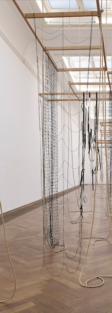 , 'Assembled, moved, re- arranged and scrapped continuously I,' 2013, Galeria Luisa Strina