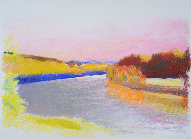 , 'Large River Bend at Putney,' ca. 1984, Addison/Ripley Fine Art