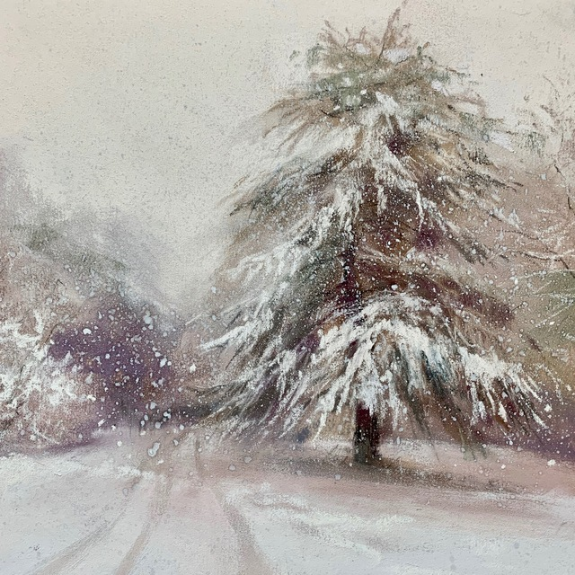 , 'Snowbound,' ca. 2019, Copley Society of Art