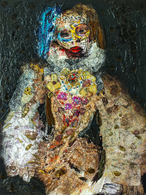 SylT, 'Dolphine', 2017, Thompson Landry Gallery