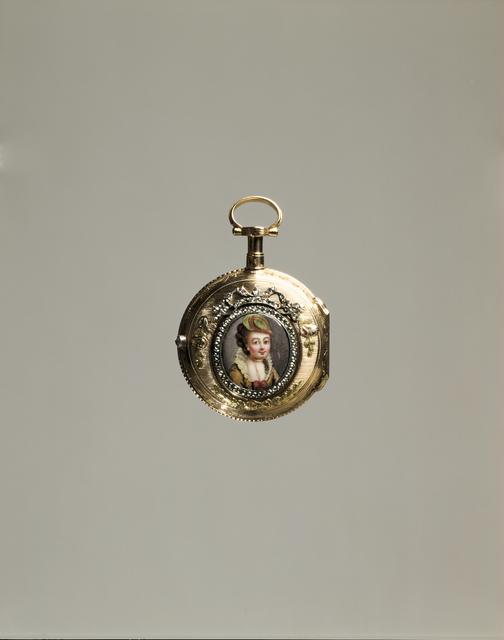 Jean-Antoine Lépine, 'Watch', 1765, Design/Decorative Art, Gold, Enamel, Diamonds, Glass, Hillwood Estate, Museum & Gardens