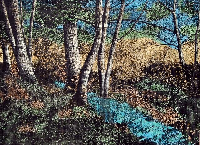 , 'Landscape Series - VII,' 2014, Merkur