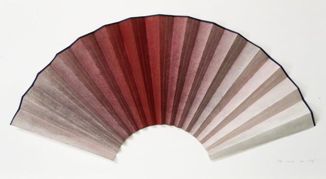 , 'Fan-shaped Ink Objects - Crimson No.3,' , HDM Gallery