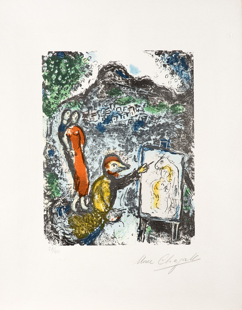 Marc Chagall, 'Near St. Jeannet', 1972, Il Ponte