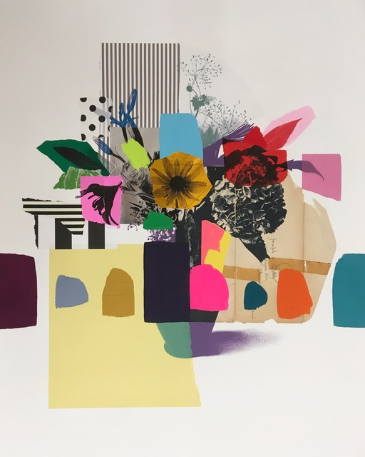 Emily Filler, 'Paper Bouquet (vintage envelope)', 2019, HATHAWAY   Contemporary Gallery