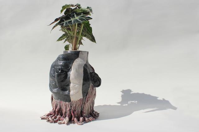 Rennie Jones, 'The Undocumented 3', 2017, Sculpture, Ceramic, Pen + Brush