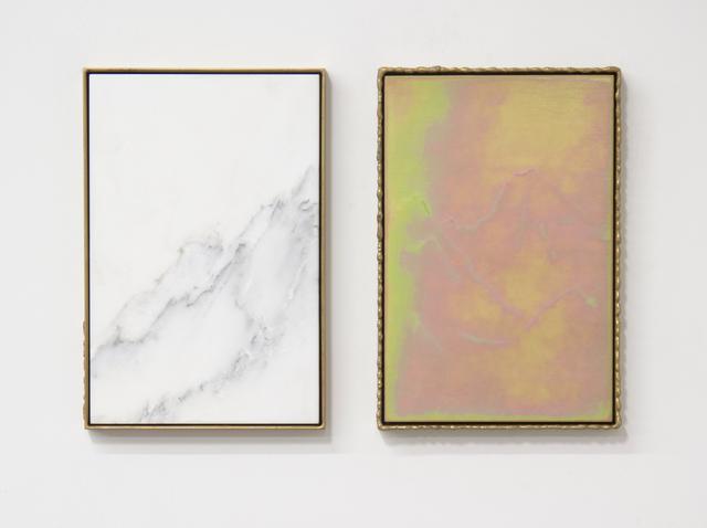 , 'Carrara Diptych,' 2017, GALLERY VACANCY