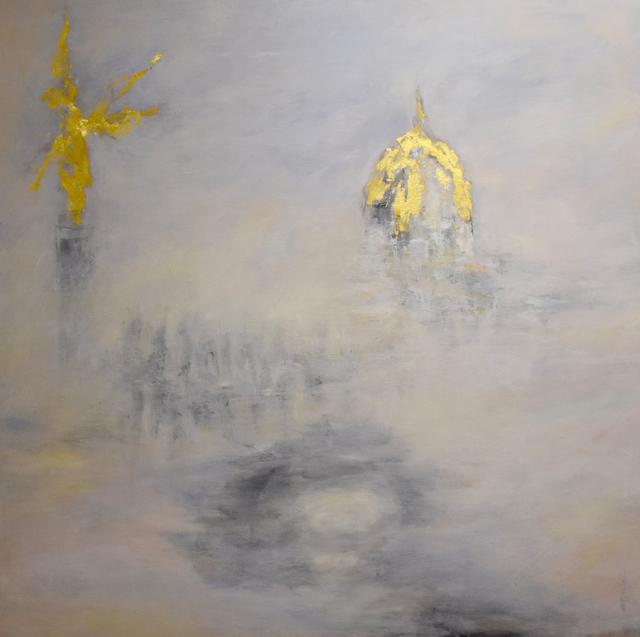, 'La lune blanche III,' 2017, Susan Calloway Fine Arts