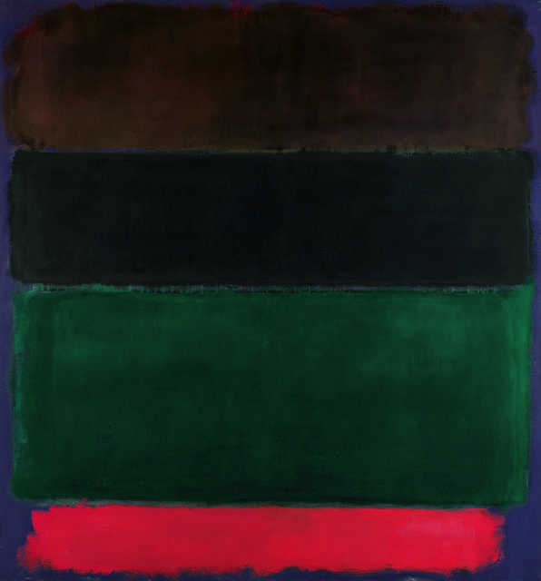 Mark Rothko, 'Untitled (Red-Brown, Black, Green, Red)', 1962, Fondation Beyeler