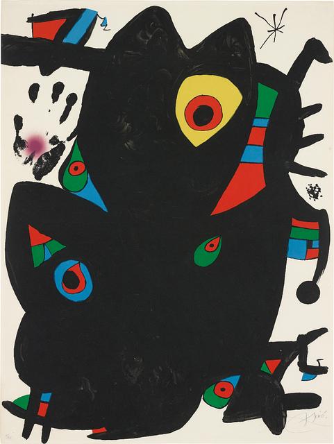 Joan Miró, 'Montroig II', 1973, Phillips