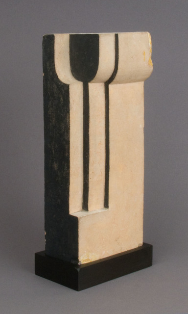 John Storrs, 'Untitled (Form in Space)', ca. 1920, Sculpture, Painted terra cotta, Richard Gray Gallery