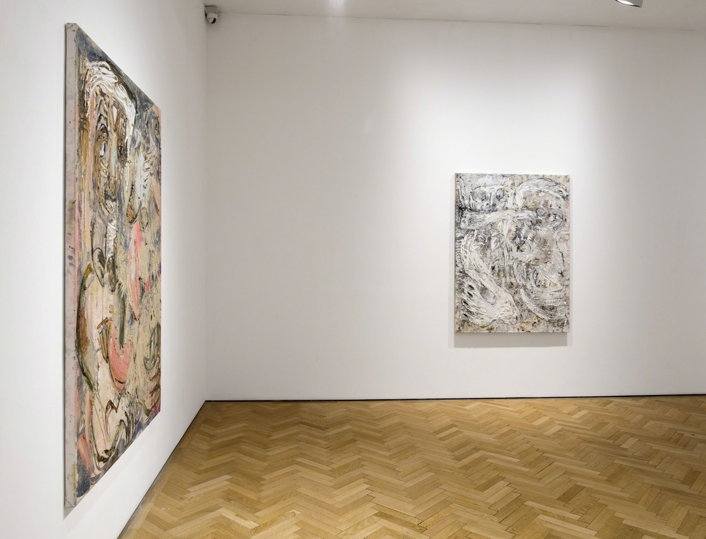Daniel Crews-Chubb, Shango and Vammarter (blue, pink and unbleached white) and Bumba and Belfie (white, pink and yellow), 2015/2016