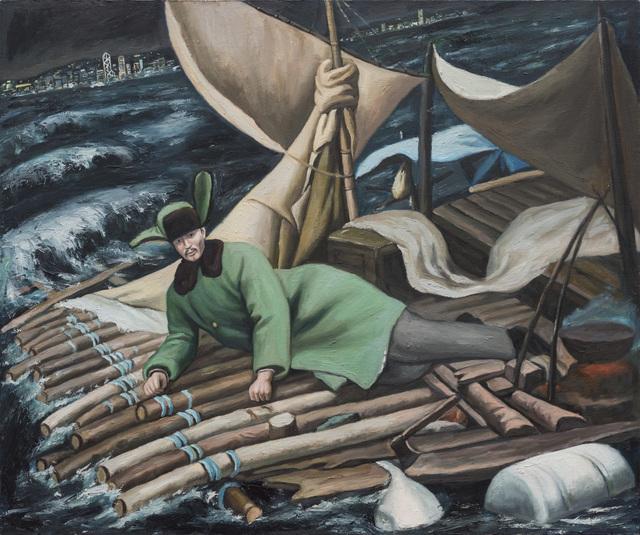 , 'Wooden Raft,' 2019, Tang Contemporary Art