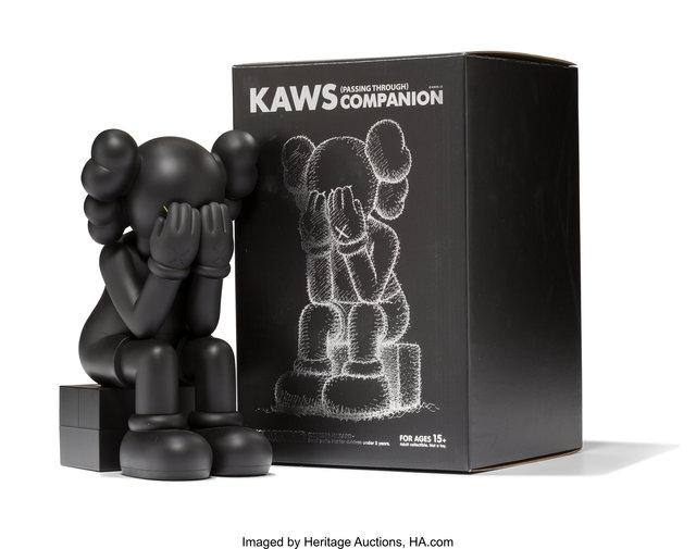 KAWS, 'Passing Through Companion (Black)', 2013, Heritage Auctions