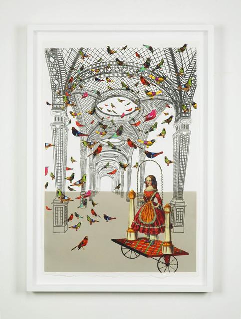 , 'Les Oiseaux dans la Charmille,' 2014, Galleria Raffaella Cortese