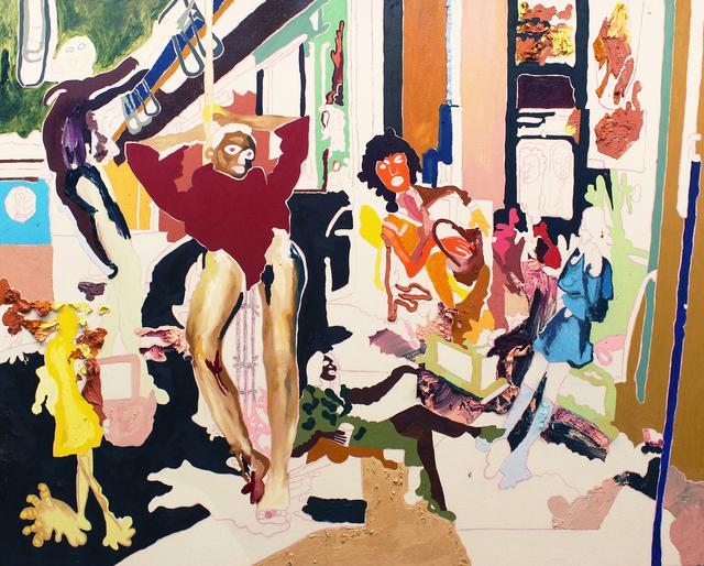 , 'Des sociétés de hasard se formaient,' 2018, Galerie Hugues Charbonneau
