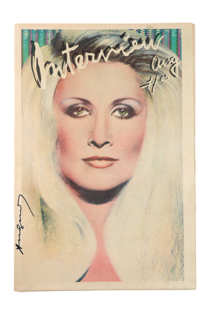 Andy Warhol, 'Interview Magazine, Vol. VIII No.8, 1978', 1978, Chiswick Auctions
