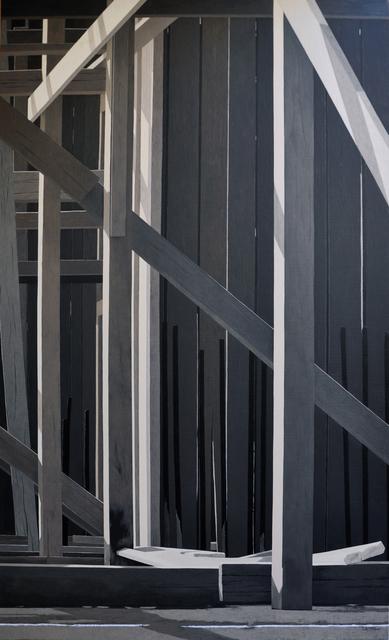 , 'Building 4,' 2017, al markhiya gallery