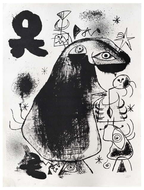 Joan Miró, 'Barcelona: XXXVI', 1939, Sims Reed Gallery
