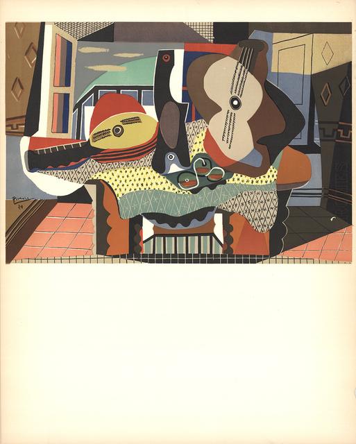 Pablo Picasso, 'Mandolin and Guitar', 1958, ArtWise