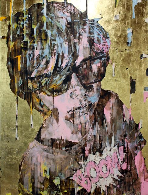 , 'Supergold Boom,' 2017, Ransom Art