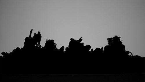, 'Shadows 3,' 2007, Bhau Daji Lad Museum