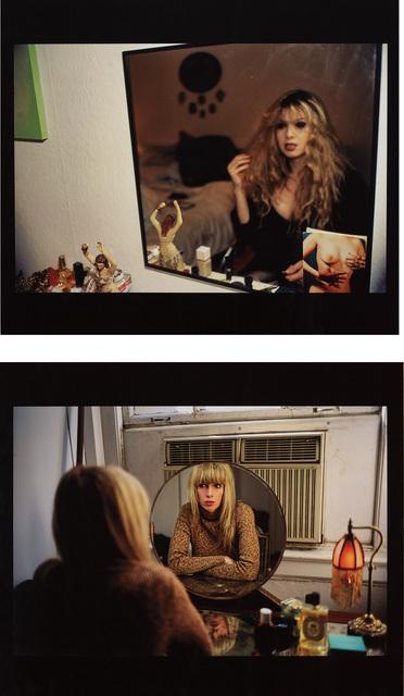 Nan Goldin, 'Joey in my mirror, Berlin 1992; and Joey in my vanity mirror, NYC 1999, from Double Exposure', 2002, Phillips