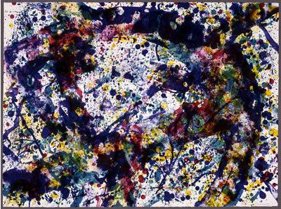 Sam Francis, 'Under Blue', 1973, Print, Lithograph, Bernard Jacobson Gallery
