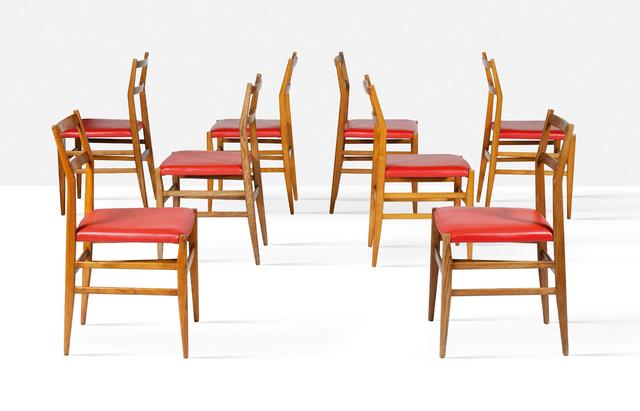 Gio Ponti, 'Set of 16 Leggera chairs', 1952, Aguttes