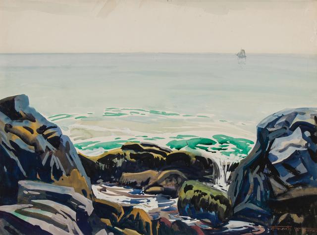", '""Washer Woman"" Monhegan Island, Maine,' ca. 1923, WOLFS"