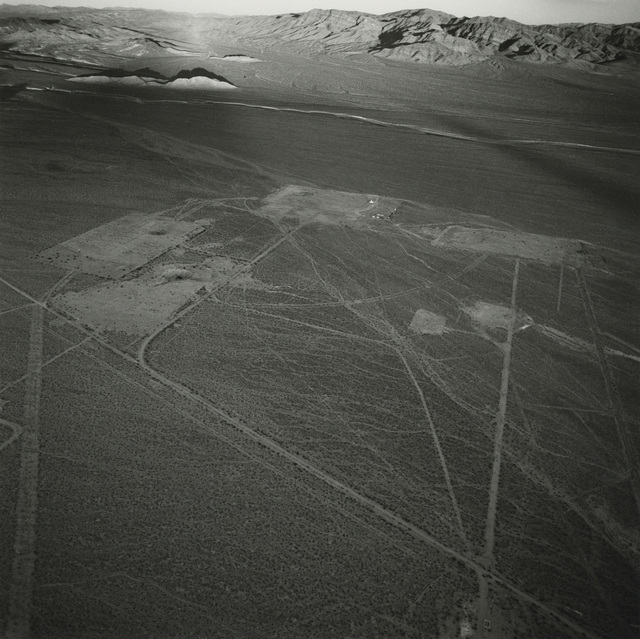Emmet Gowin, 'Several Roads and Five Subsidence Craters North of the Radioactive Waste Management Site, Eastern Side of Area 5, Nevada Test Site', 1997, Pace/MacGill Gallery