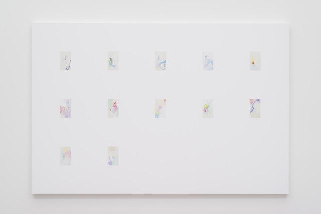 , 'iPhone Paintings 46 - 57 Fourth Quarter 2016,' 2017, Gavlak