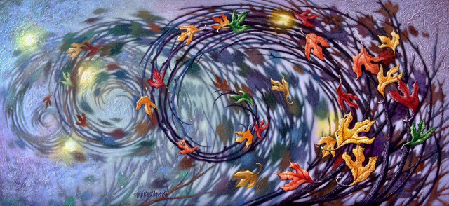 , 'Whirling Winds,' , LaMantia Fine Art Inc.