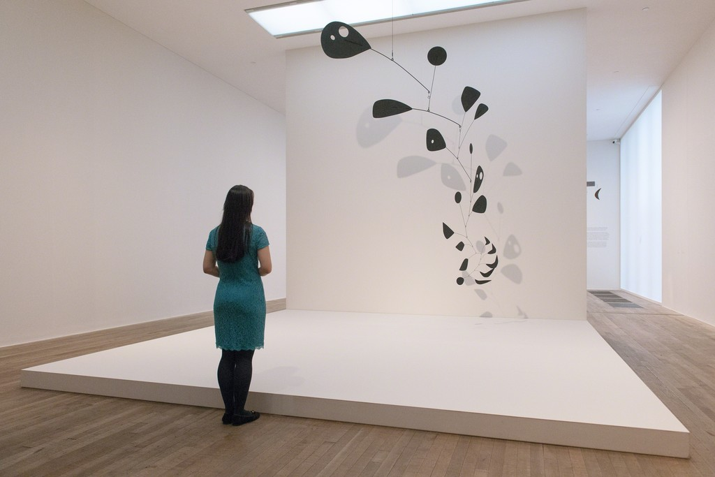 Installation photograph, Alexander Calder: Performing Sculpture.