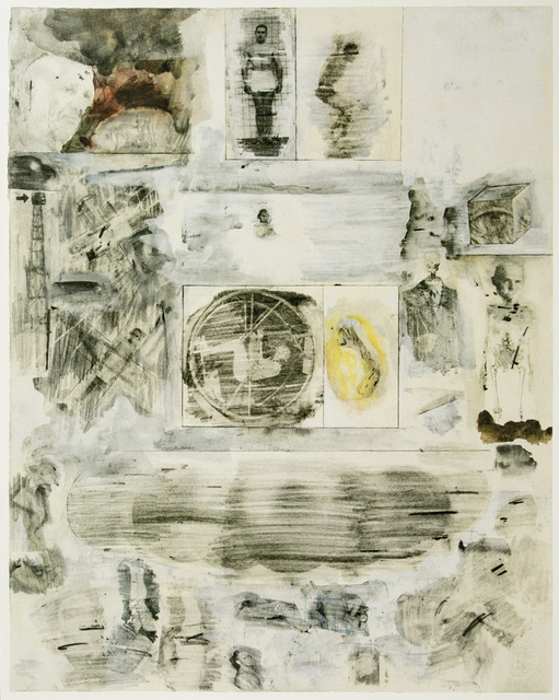 Robert Rauschenberg, 'Dante's Inferno - The Cocytus, a Lithograph by Robert Rauschenberg', 2017, White Cross