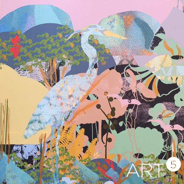 Tiffany Lynch, 'Heron Dreaming', 2019, Art5 Gallery