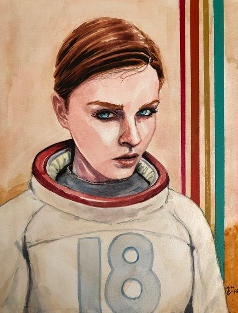 , 'Spacegirl 2018,' 2018, {9} The Gallery