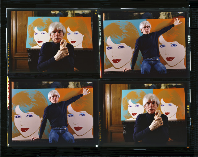 , 'Andy Warhol, New York (Times Four),' 1983, Contessa Gallery
