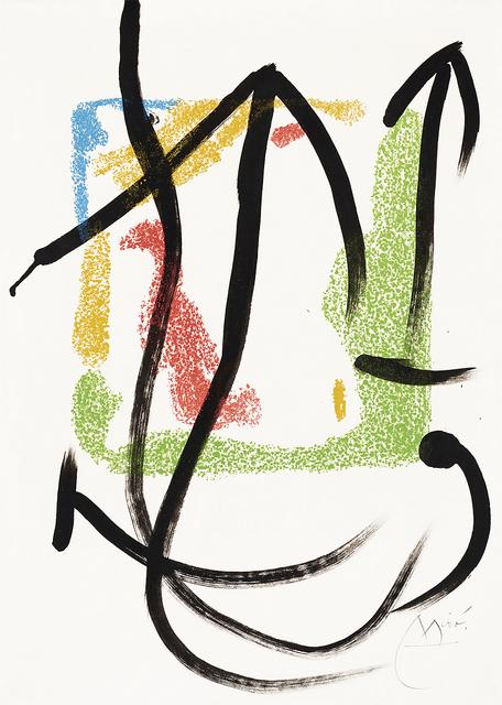 Joan Miró, 'Les Essències de la Terra (The Essences of the Land)', 1968, Masterworks Fine Art