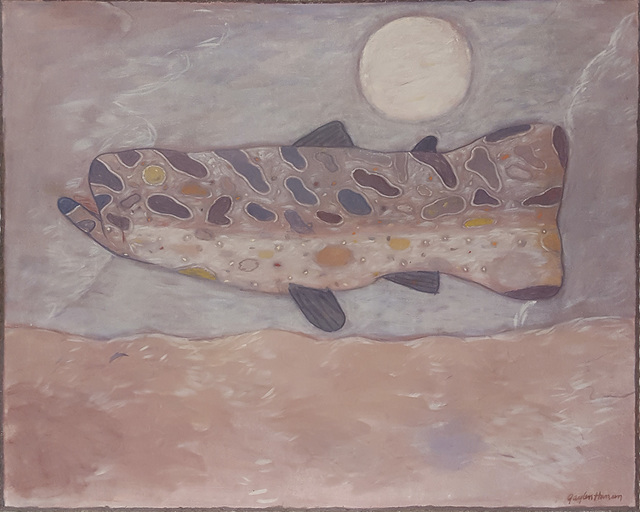 , 'Pink Fish,' 1988, Linda Hodges Gallery