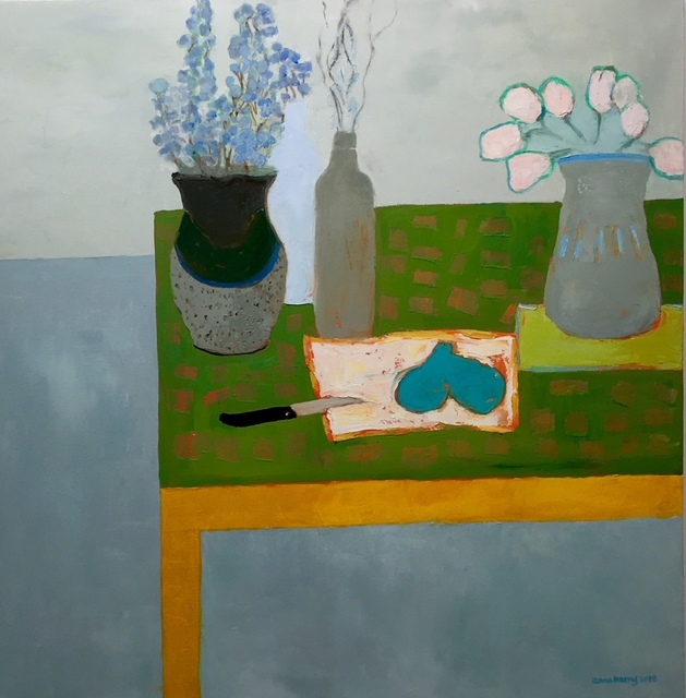 , 'Bluebells and Pears,' 2010-2018, Eisenhauer Gallery