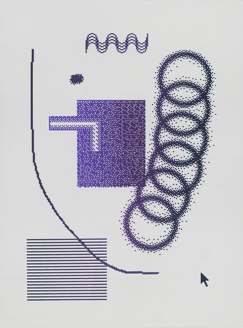 Arno Beck, 'Algorythmics - Edition', 2018, Falko Alexander